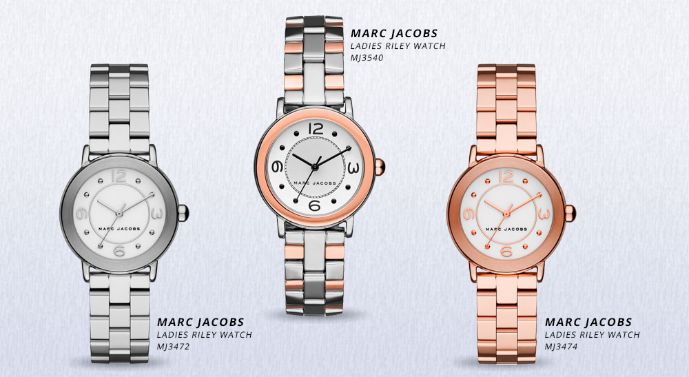 Marc Jacobs Uhren Riley