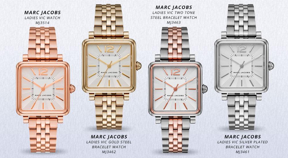 Marc Jacobs Uhren Vic
