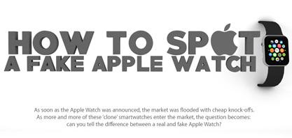 Wie man eine gefälschte Apple Watch Finde