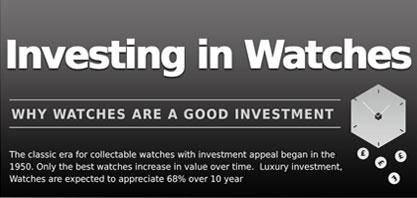 Investieren in Uhren
